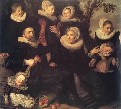 Family Portrait in a Landscape WGA