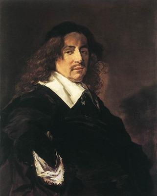 hals frans portrait of a man 1650