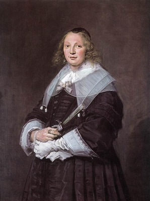 HALS Frans Portrait Of A Standing Woman