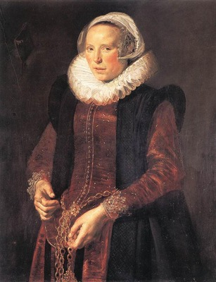 HALS Frans Portrait Of A Woman