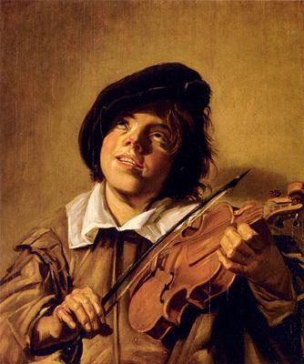 Hals Frans Boy Playing A Violin
