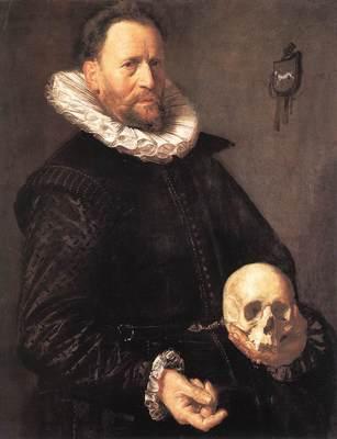 Portrait of a Man Holding a Skull WGA