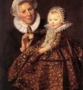 Catharina Hooft with her Nurse WGA