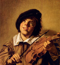 Hals Frans Boy Playing A Violin