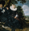 Hals Frans Marriage Portrait of Isaac Massa en Beatrix van der Laen