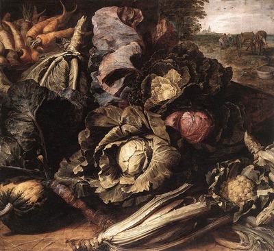 SNYDERS Frans Vegetable Still Life