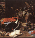SNYDERS Frans Still life With Crab And Fruit