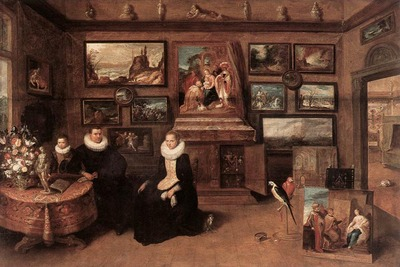 FRANCKEN Frans II Sebastiaan Leerse In His Gallery
