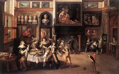 FRANCKEN Frans II Supper At The House Of Burgomaster Rockox