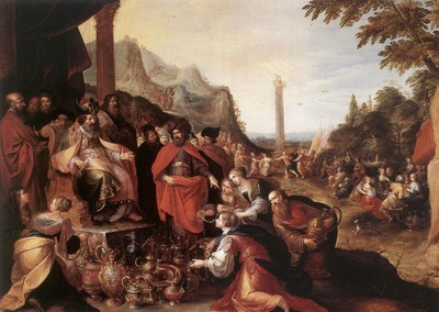FRANCKEN Frans II Worship Of The Golden Calf