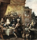 FRANCKEN Frans II Feast Of Esther