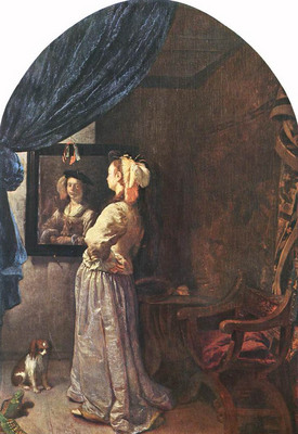 Woman before the Mirror WGA