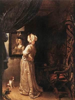 Woman before the Mirror detail WGA