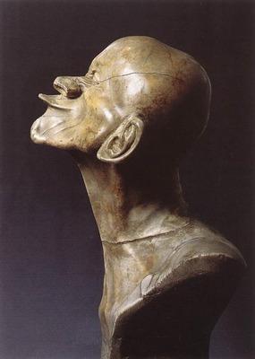 MESSERSCHMIDT Franz Xaver Character Head The Beaked Side View
