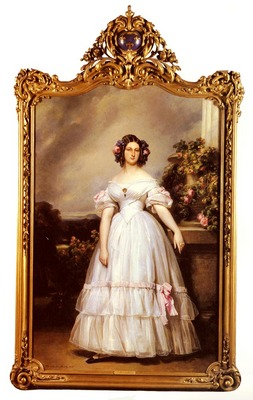 Winterhalter Franz Xaver A Full%20Length Portrait Of HRH