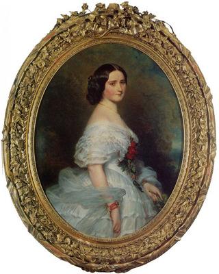 Winterhalter Franz Xavier Anna Dollfus Baronne de Bourgoing