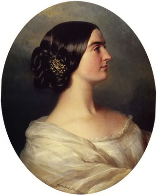 Winterhalter Franz Xavier Charlotte Stuart Viscountess Canning