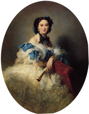Winterhalter Franz Xavier Countess Varvara Alekseyevna Musina Pushkina