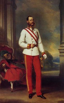 winterhalter franz xavier franz joseph i emperor of austria