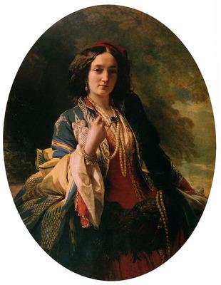 winterhalter franz xavier katarzyna branicka countess potocka