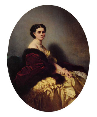 Winterhalter Franz Xavier Madame Sofya Petrovna Naryschkina