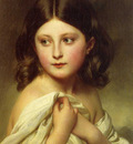 Winterhalter Franz Xavier A Young Girl called Princess Charlotte
