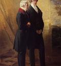 Winterhalter Franz Xavier Arthur Wellesley 1st Duke of Wellington with Sir Robert Peel