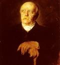 Lenbach Franz Von Portrait Of Furst Otto Von Bismarck