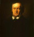 Lenbach Franz von Portrait of Richard Wagner