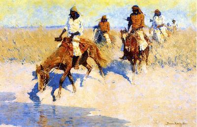 Remington Frederic Pool in the Desert