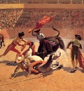 Remington Frederic Bull Fight in Mexico