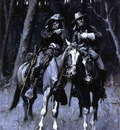 Remington Frederic Cheyenne Scouts Patrolling the Big Timber of the North Canadian Oklahoma