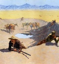 Remington Frederic Fight for the Water Hole