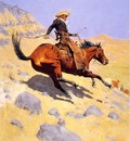 Remington Frederic The Cowboy