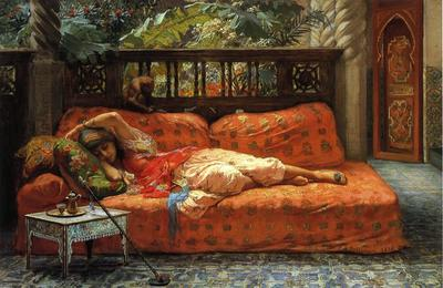 Bridgeman Frederick Arthur The Siesta