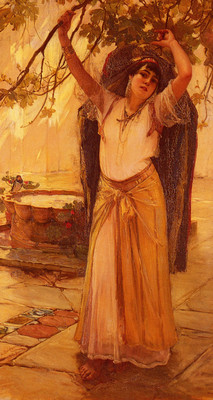 Bridgman Frederick Arthur Spanish Lady