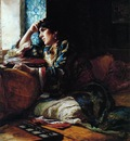Bridgeman Frederick Arthur Aicha a Woman of Morocco