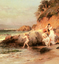 Bridgman Frederic Arthur The Bathing Beauties