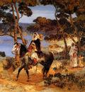 Bridgman Frederick Arthur A Coastal Trail
