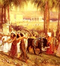Bridgman Frederick Arthur An Egyptian Procession