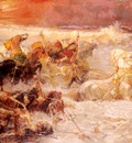 Bridgman Frederick Arthur Pharaoh%20s Army Engulfed By The Red Sea