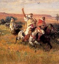 Bridgman Frederick Arthur The Falcon Hunt