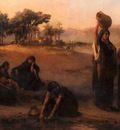 Bridgman Fredick Arthur Women Drawing Water From The Nile