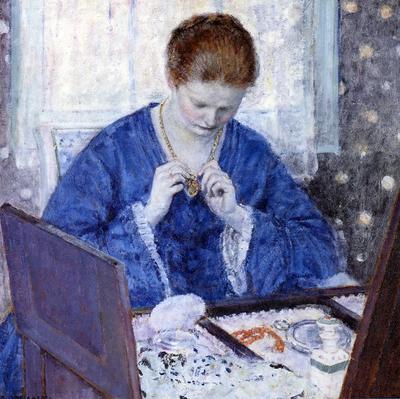 Frieseke Frederick C The Gold Locket