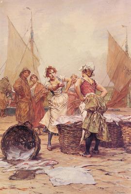 Kaemmerer Frederik Hendrik The Fishwives