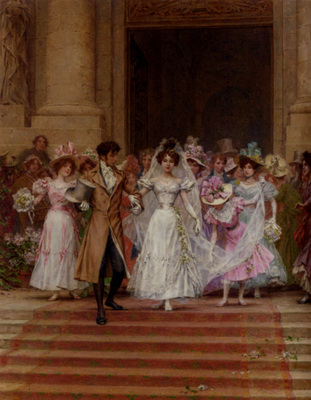 Kaemmerer Frederik Hendrik The Wedding Church Of St Roch Paris