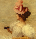 Kaemmerer Frederick Hendrik Woman With Opera Glasses