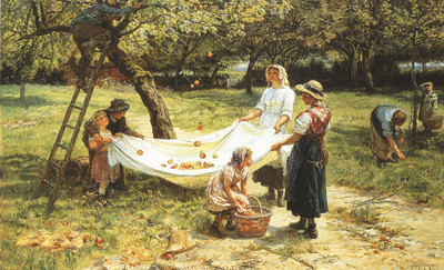 An Apple gathering