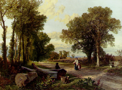 Hulme Frederick William A Wayside Conversation