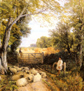 Hulme Frederick William Landscape In Wales